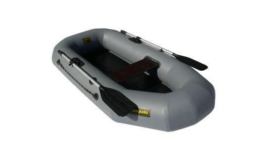 """Лодка ПВХ """"Компакт-210"""" гребная (серый)"""