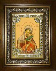 Акидимская (Взыграние Младенца) икона Божией Матери (18х24)