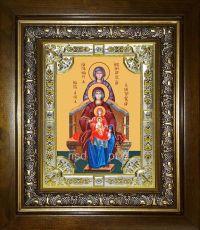 Богородица со сродницами праведными икона Божией матери (18х24)