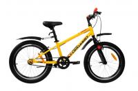 """Подростковый горный (MTB) велосипед FORWARD UNIT 20 1.0 10.5"""" Желтый (RBKW01N01002)"""