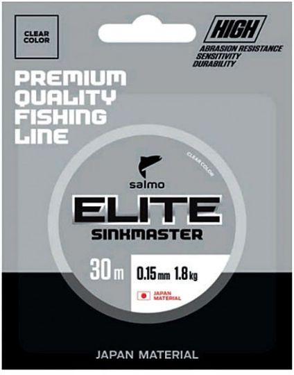 Леска Salmo Elite Sinkmaster 30м прозрачная