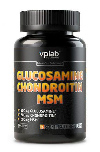 VPLab Glucosamine & Chondroitine MSM 90 таб. скл 2 1-2 дня