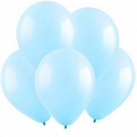 """Светло-голубой, 10"""", пастель, 100 шт"""