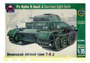 Немецкий лёгкий танк Pz.Kpfw.II Ausf.J