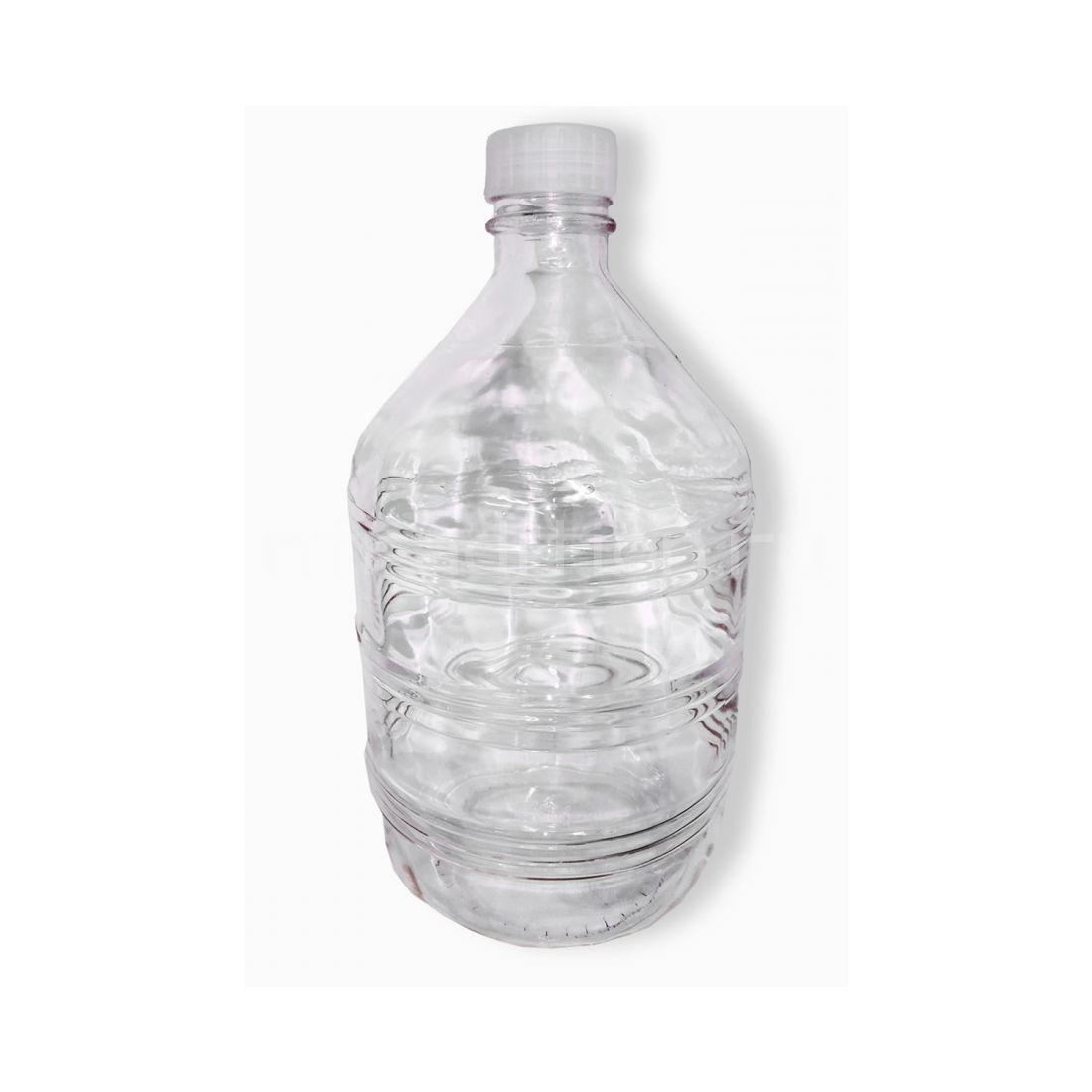 Бутыль прозрачная, 10 л (винт крышка в комплекте)