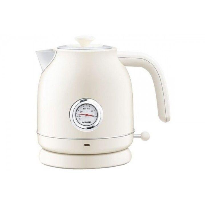 Чайник Xiaomi Qcooker Kettle (с датчиком температуры) Белый
