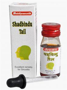 Шадбинду масло капли в нос Baidyanath, 50 мл Shadbindu Tail