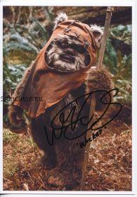 Автограф: Уорвик Дэвис. Звёздные войны: Эпизод 6 – Возвращение Джедая
