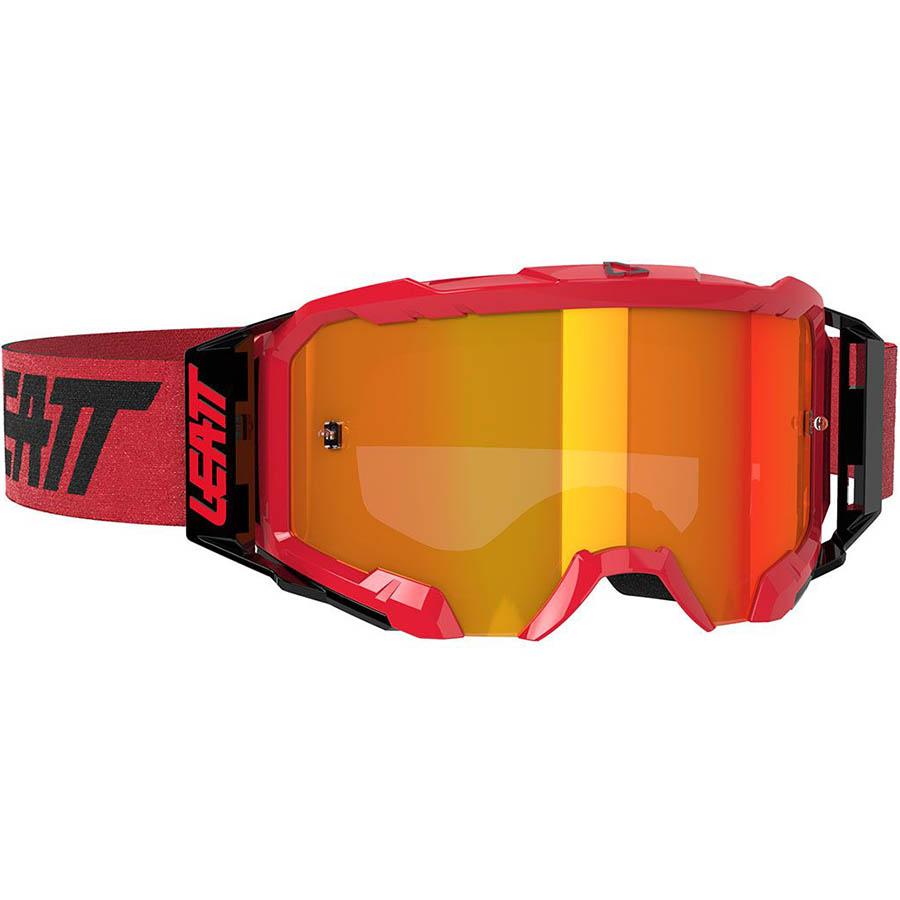 Leatt Velocity 5.5 Iriz Red/Red 28% очки для мотокросса и эндуро