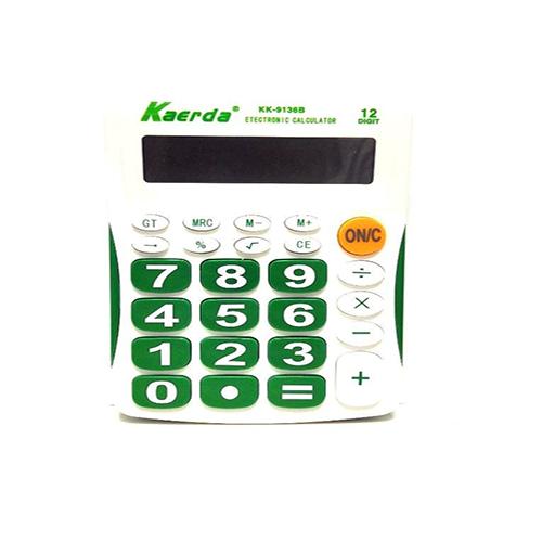 Настольный 12-разрядный калькулятор с большими кнопками Kaerda KK-9136B