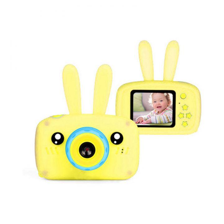 Детский фотоаппарат Fun Camera Rabbit (Желтый)