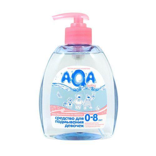 AQA BABY Средство для подмывания девочек, 300 мл.