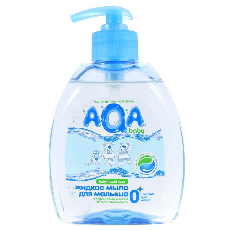 AQA BABY Жидкое мыло для малыша, 300 мл.