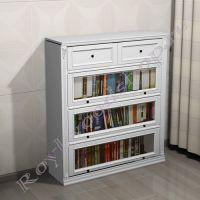 Книжный шкаф Лондон ЛИ-box белый