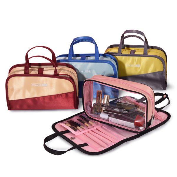 Дорожная косметичка со съёмным отделением Travel Bag