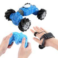 Машинка - перевёртыш с управлением жестами Champions Climber, 32 см (модель 2766), синий