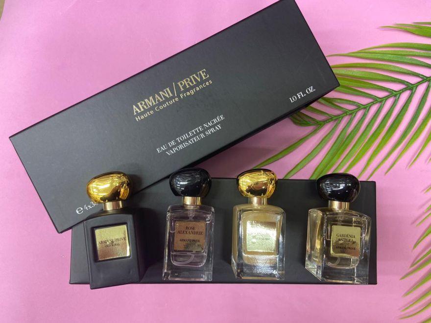 Подарочный набор ARMANI / PRIVE Haute Couture Fragrances 4х30 мл