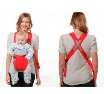 Рюкзак-кенгуру для детей от 3 до 16 месяцев, красный