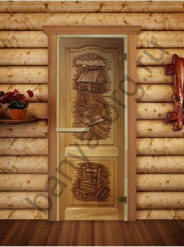 Дверь 6мм 190*70 с фотопечатью РБ-1