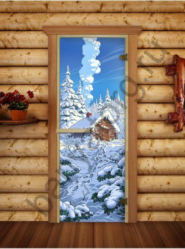 Дверь 6мм 190*70 с фотопечатью РБ-5