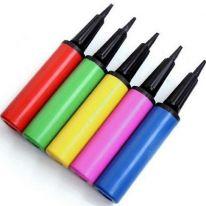 Насос ручной для воздушных шаров и надувных игрушек, цвет-случайный