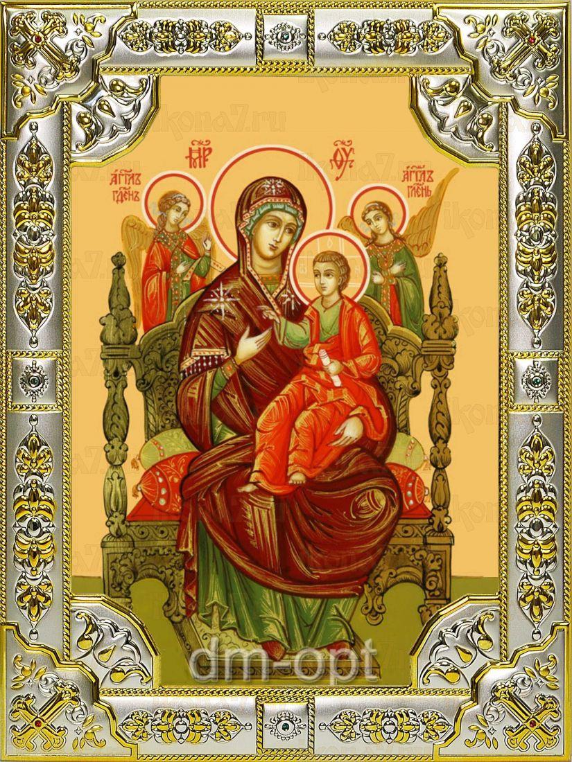 Всецарица икона Божией матери (Пантанасса) (18х24)