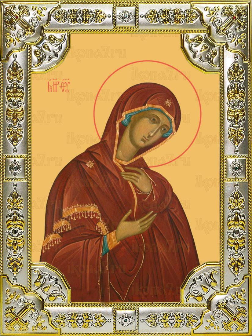 Деисусная Икона Божией Матери (18х24)