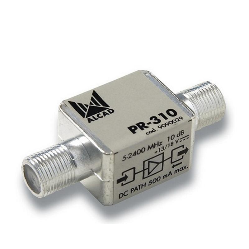 Антенный усилитель универсальный ТВ/SAT ALCAD PR-310
