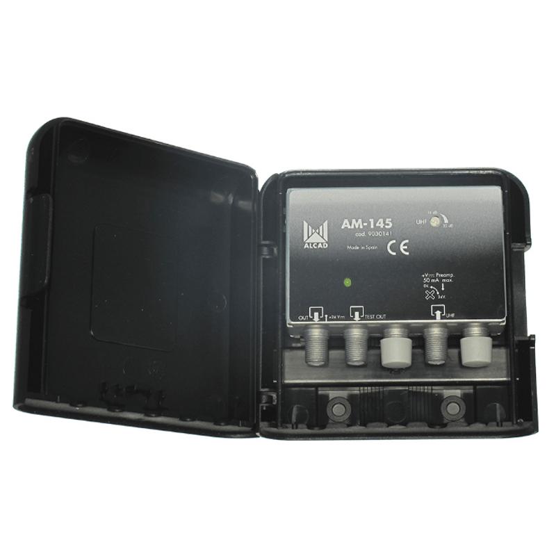 Антенный усилитель мачтовый ДМВ ALCAD AM-145