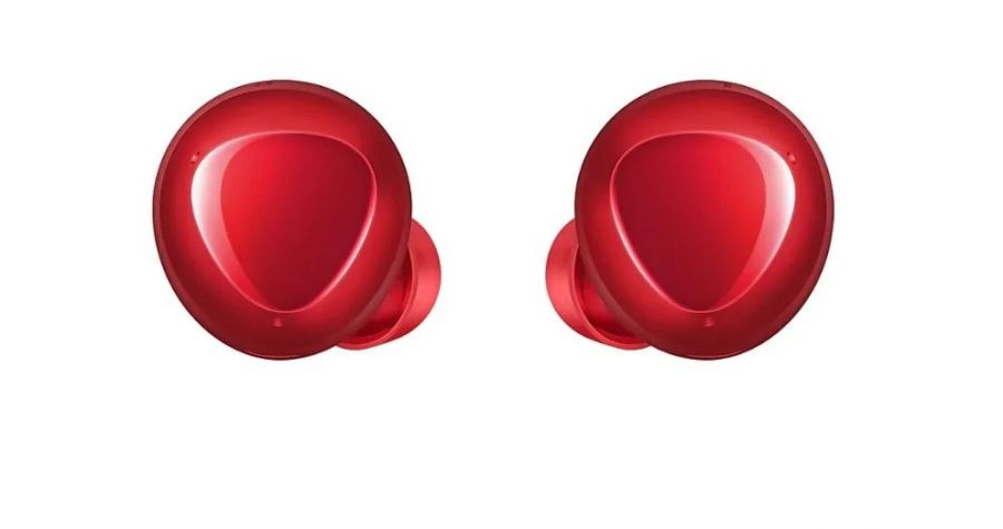 Беспроводные наушники Samsung Galaxy Buds+ RED