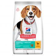Hill's Canine Adult Perfect Weight Medium - Для собак средних пород низкокалорийный (12 кг)