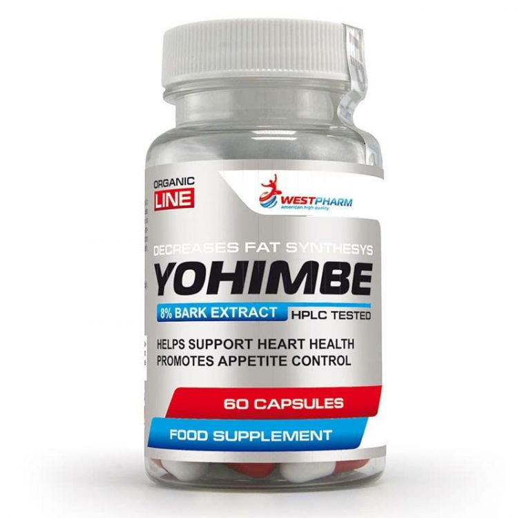 Yohimbe Extract 50mg от WestPharm 60капс