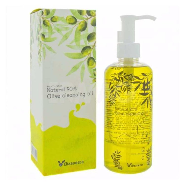 Масло гидрофильное Olive 90% Cleansing Oil  300мл Elizavecca