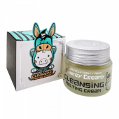 Крем для снятия макияжа Elizavecca Donkey Creamy Cleansing Melting Cream