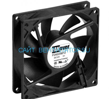 Вентилятор 92х92х25мм 12В 0.13А FD9225B12M DC (качения)