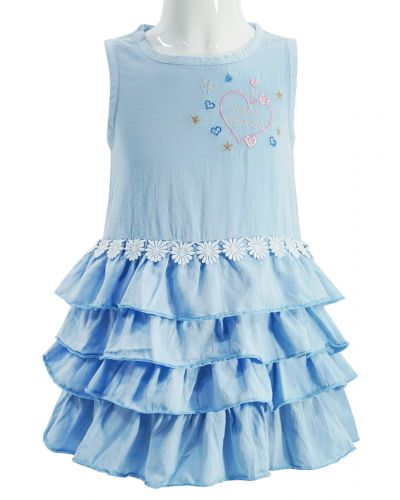 Платье для девочки с рюшками 2-5 лет Bonito OP845P