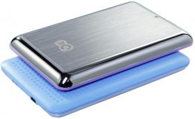 "Внешний бокс для HDD 2,5"" 3Q HDD-U235H-HB Metal  Blue USB 2.0  7mm/9mm"