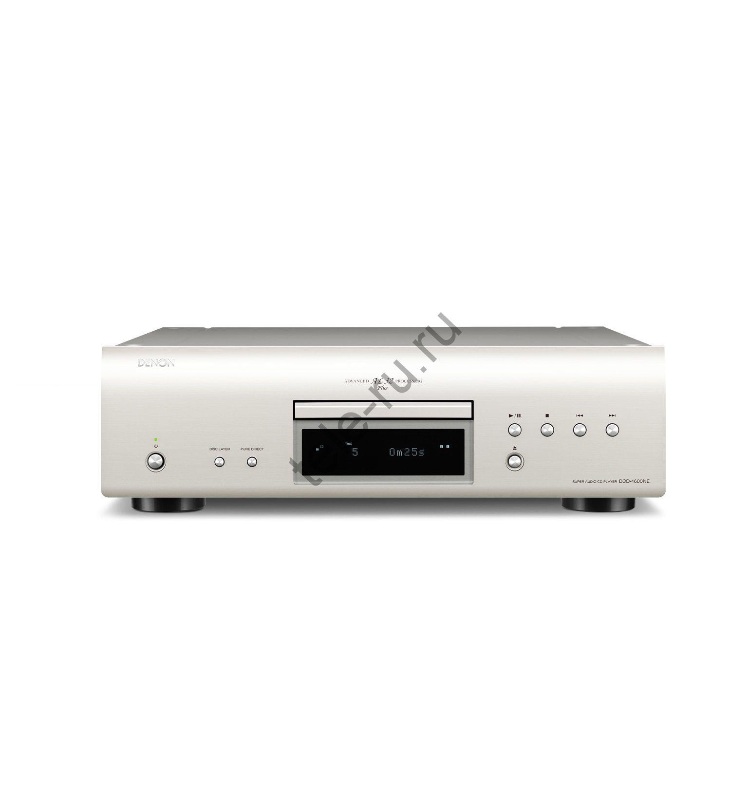 CD и SACD Проигрыватели DENON DCD-1600NE, Premium Silver