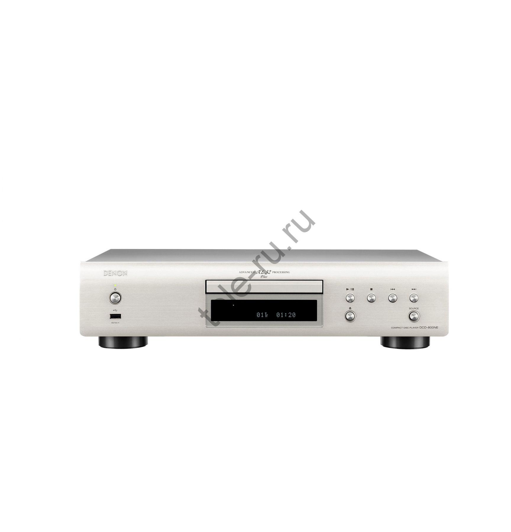 CD и SACD Проигрыватели DENON DCD-800NE, Premium Silver
