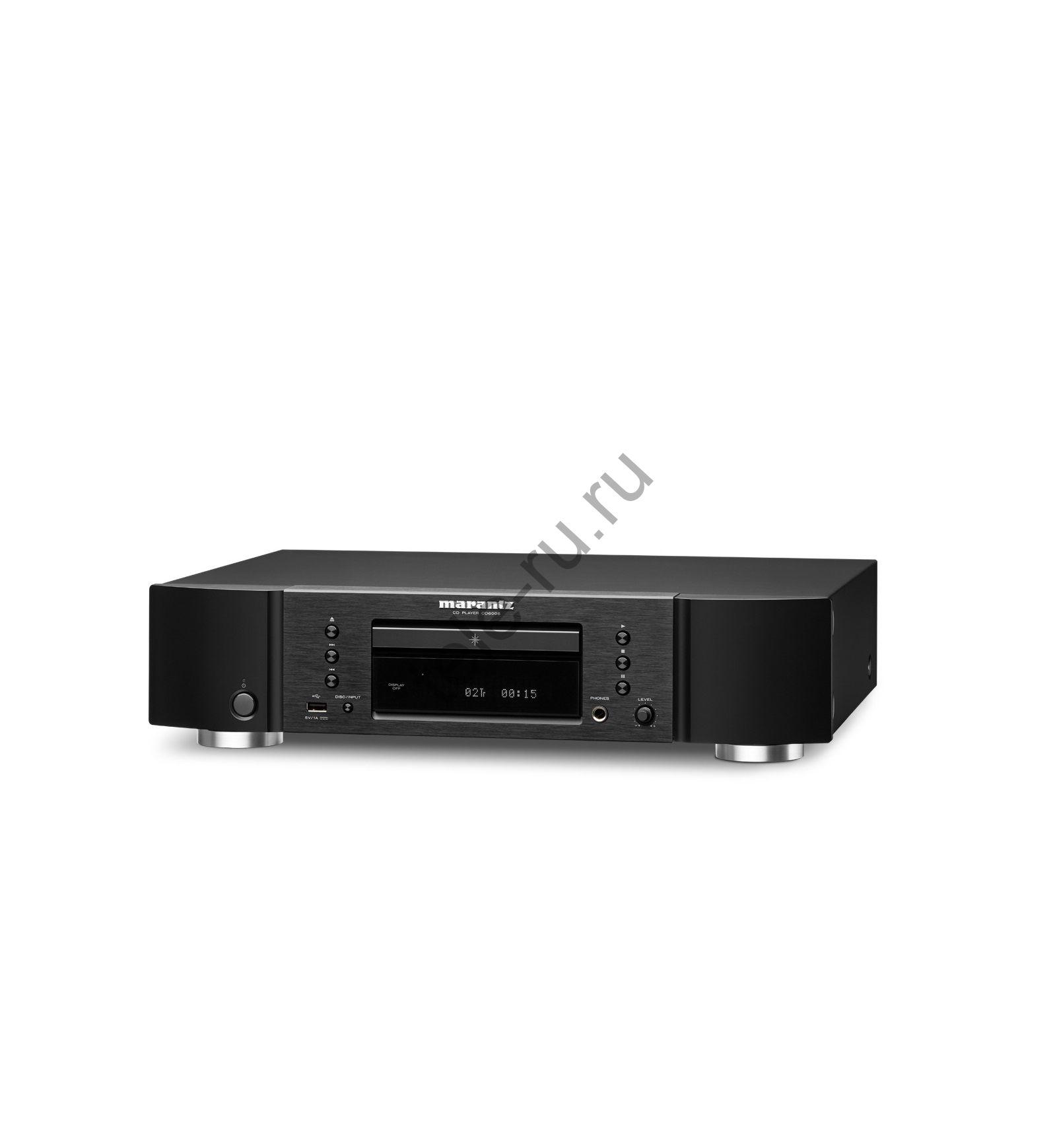 CD и SACD Проигрыватели MARANTZ CD 6006, Black