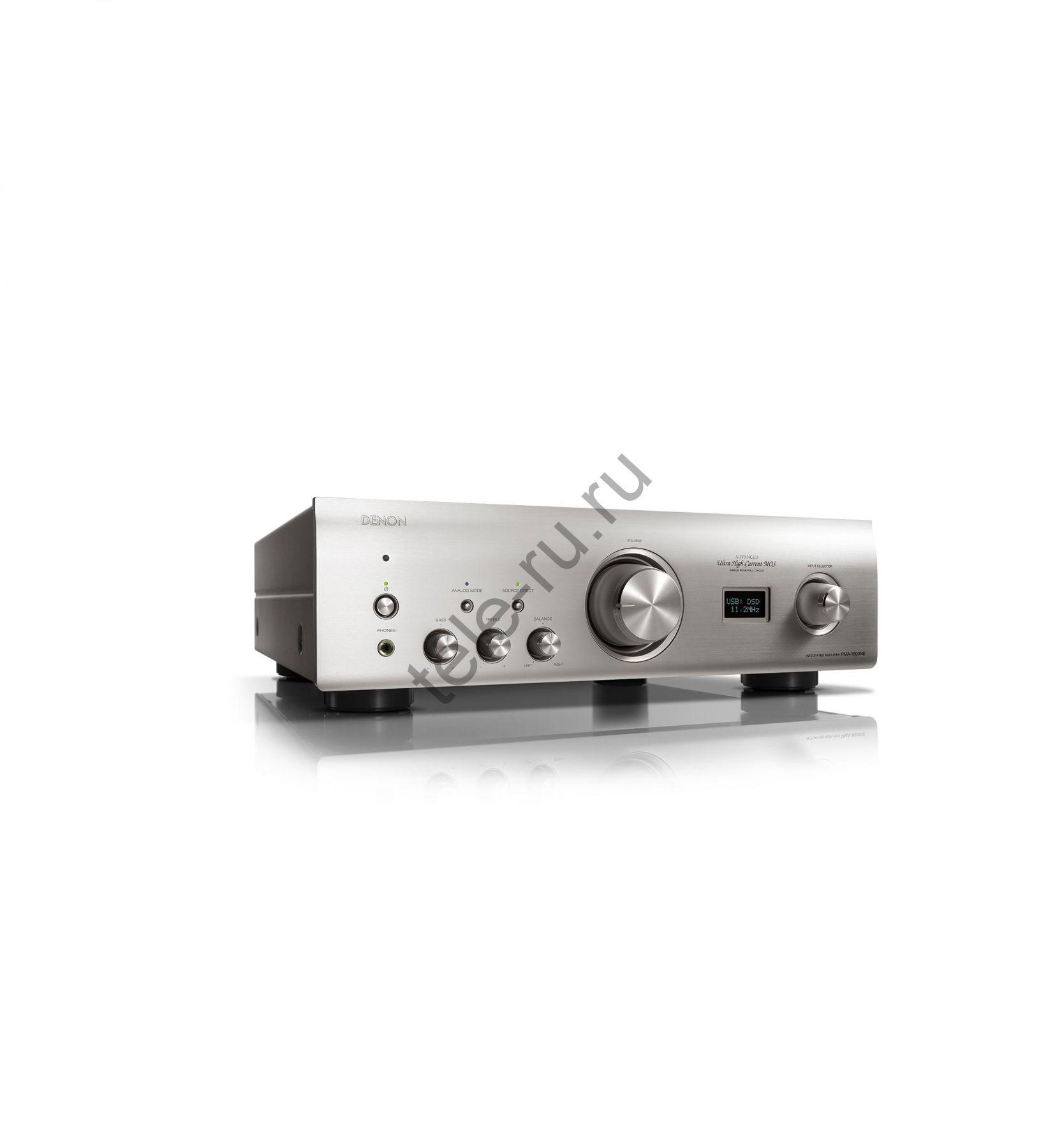 Интегральные усилители DENON PMA-1600NE, Premium Silver