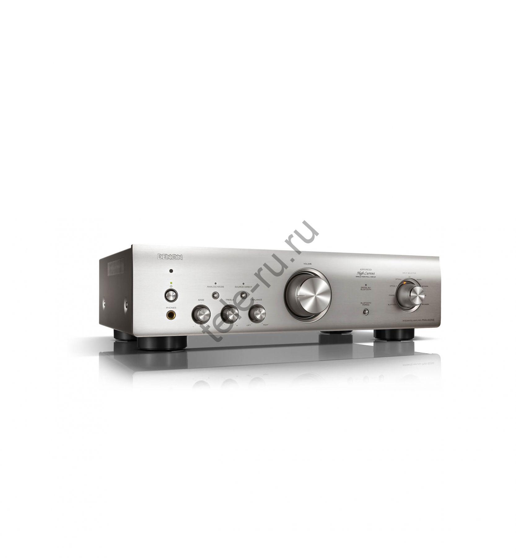 Интегральные усилители DENON PMA-600NE, Premium Silver