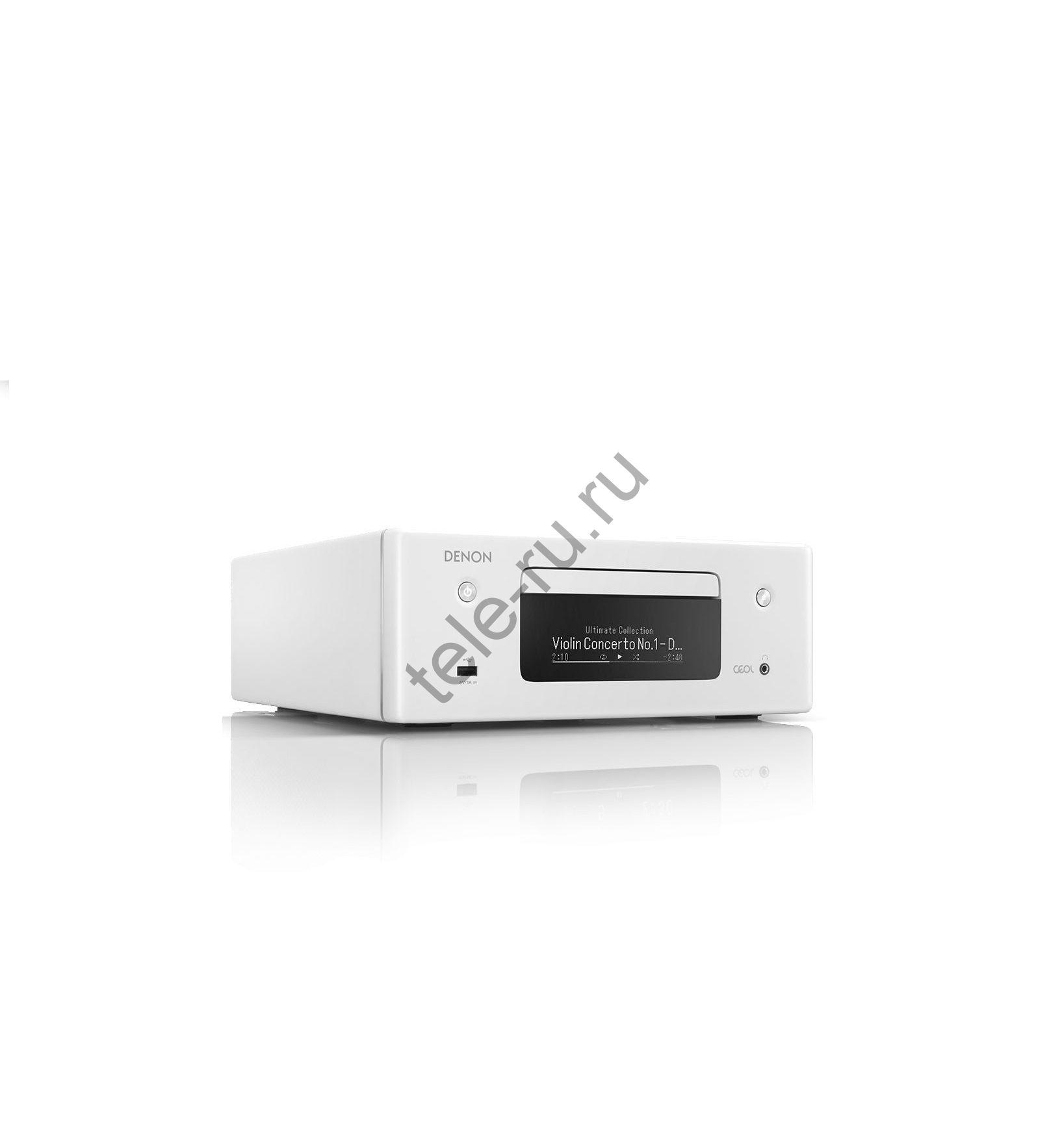 Микросистемы DENON RCD-N10, White