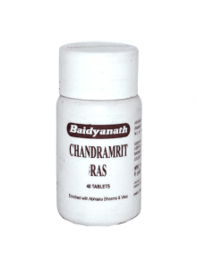 Чандрамрит рас 40 таб, Chandramrit Ras Baidyanath, Индия