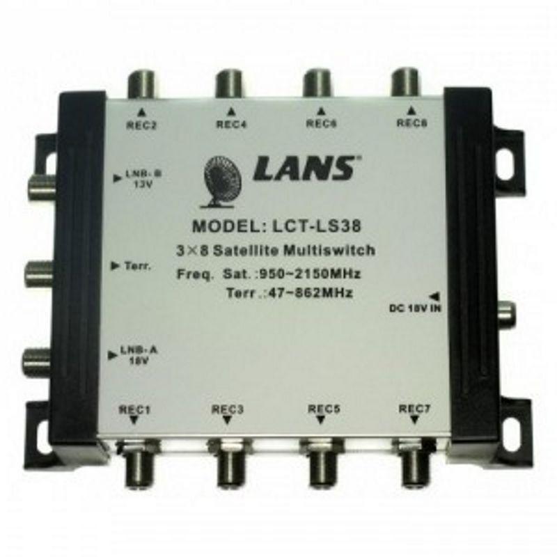 Мультисвитч LANS LCT LS-38