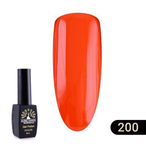 Гель лак Global Fashion BLACK ELITE 8 мл 200