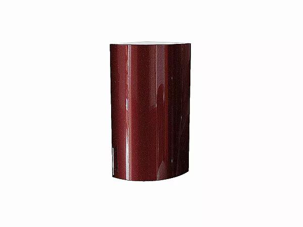 Шкаф верхний торцевой Валерия ВТ230S (гранатовый металлик)