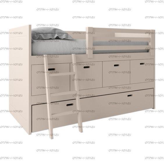 Кровать-чердак Фокси №7