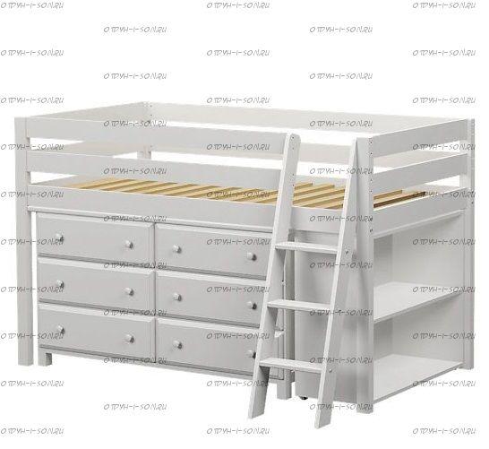 Кровать-чердак Фокси №1