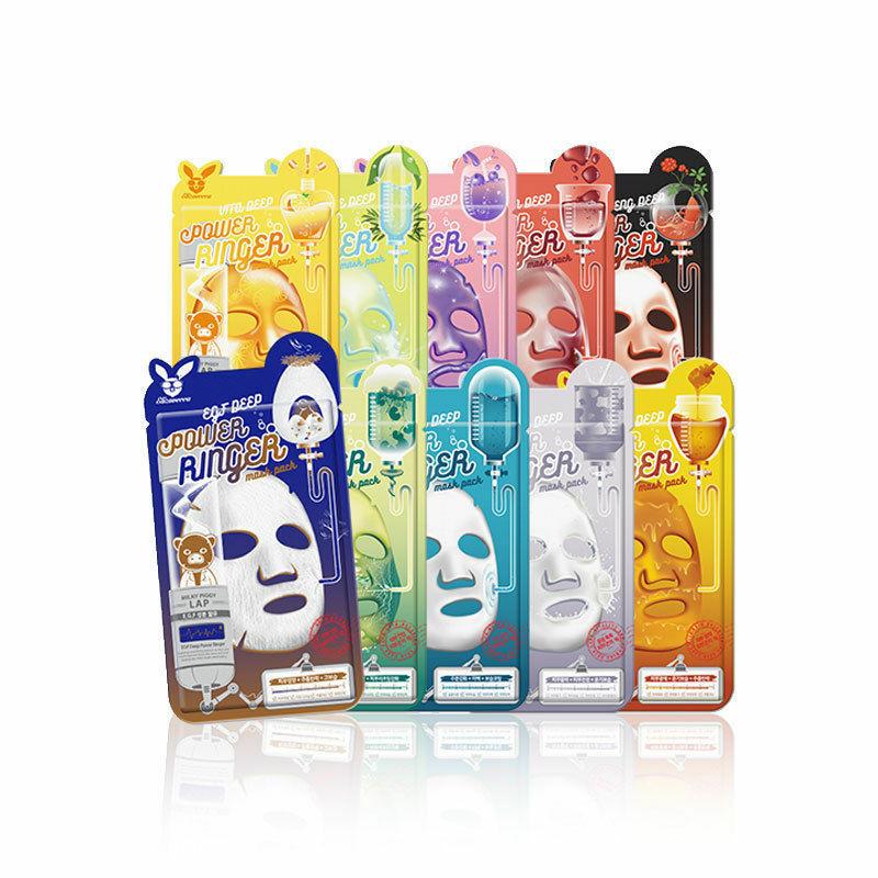 Тканевые маски Elizavecca Deep Power Ringer Mask Pack